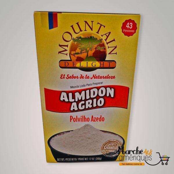 Almidon Agrio Mezcla Lista Para Preparar Mountain 340 G