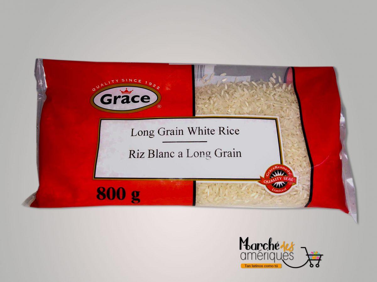 Arroz Blanco Grano Largo Grace 800 G