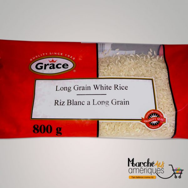 Arroz Blanco Grano Largo Grace 800 G