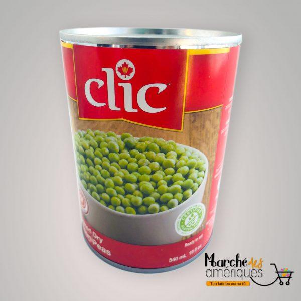 Arvejas Verdes Lista Para Comer Clic 540 Ml