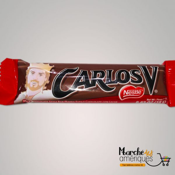 Barra Estilo Chocolate Carlos V Nestle 18 G