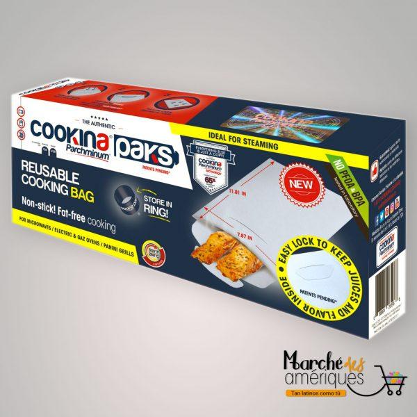 Bolsas De Cocina Reutilizables Cookina Parchminum Paks
