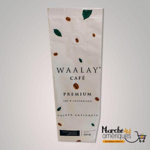 Cafe Premium Colombiano Waalay 250 G