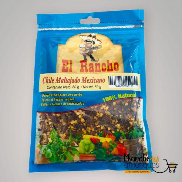 Chile Maltajado Mexicano El Rancho 60 G