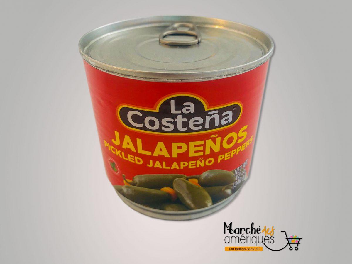 Chiles Jalapenos Marinados La Costena 340 G