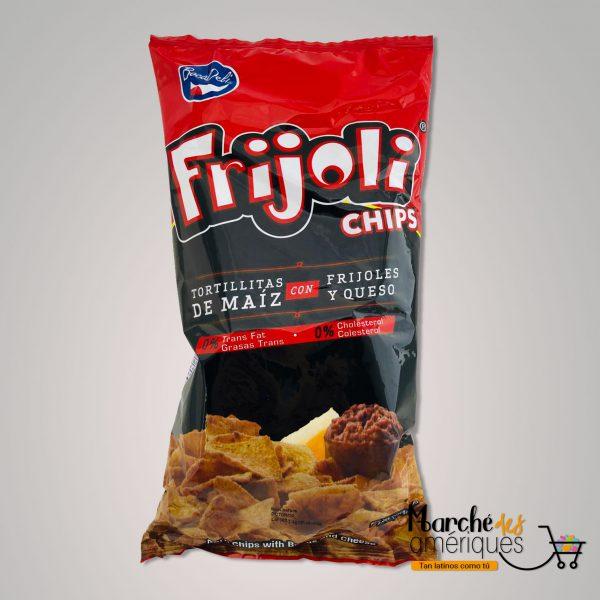 Chips Frijoli Tortilla Maiz Frijol Queso BocaDeli 150 G