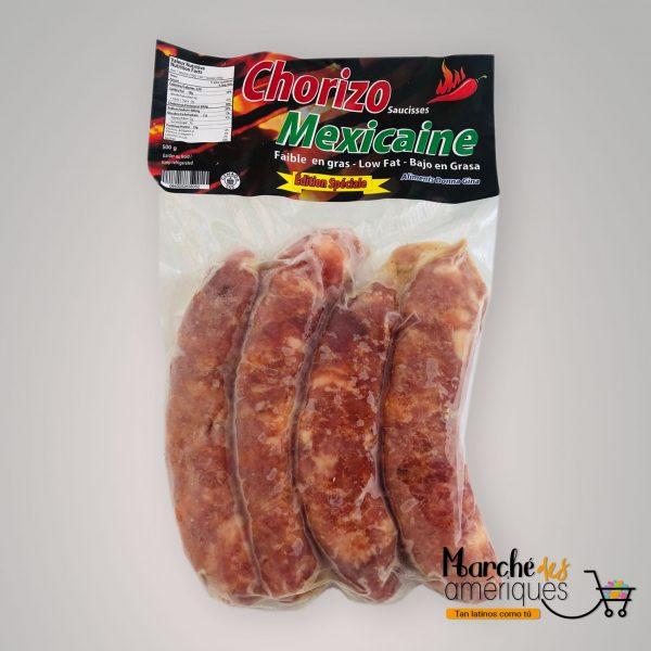 Chorizo Mexicano Picante Dona Gina 4 Unidades