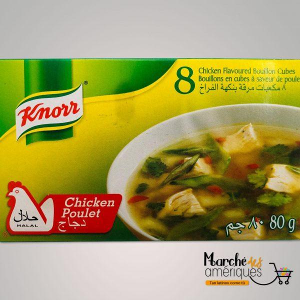 Cubitos Caldo Pollo Knorr 80 G 8 Cubos