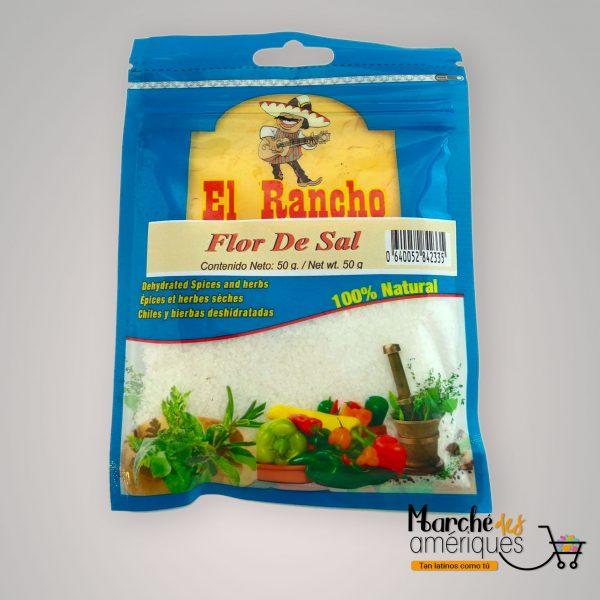 Flor De Sal El Rancho 50 G