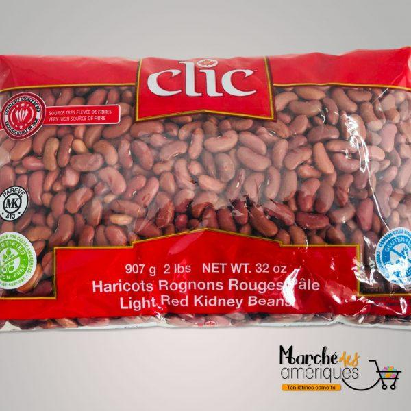 Frijol Rojo Palido Clic 2 Lb
