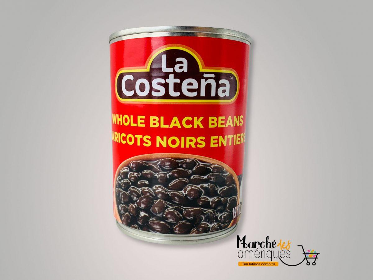 Frijoles Negros Enteros La Costena 560 Ml