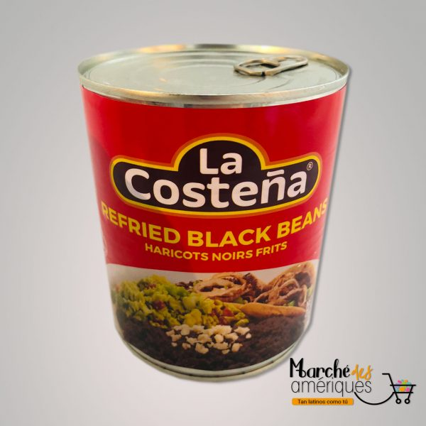 Frijoles Negros Refritos La Costena 772 Ml
