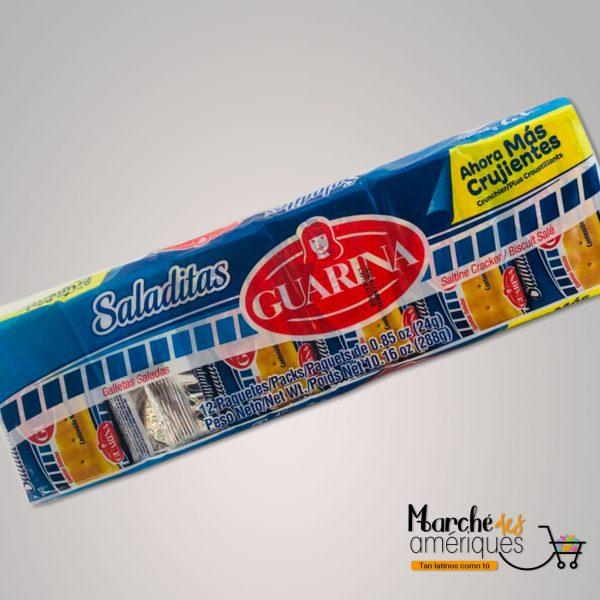 Galletas Saladitas Guarina 12 Paquetes 288 G