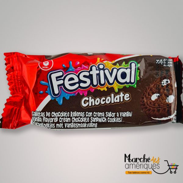 Galletas De Chocolatecon Vainilla Festival 33 6 G