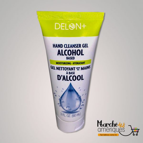 Gel Limpiador De Manos A Base De Alcohol Delon Plus 90 Ml