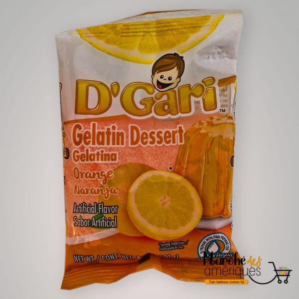 Gelatina De Naranja D Gari 120 G