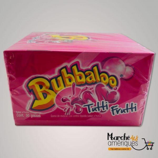 Goma Mascar Centro Liquido Tutti Frutti Bubbaloo 50 Unidades