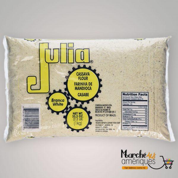 Harina De Yuca Blanca Julia 1 Kg