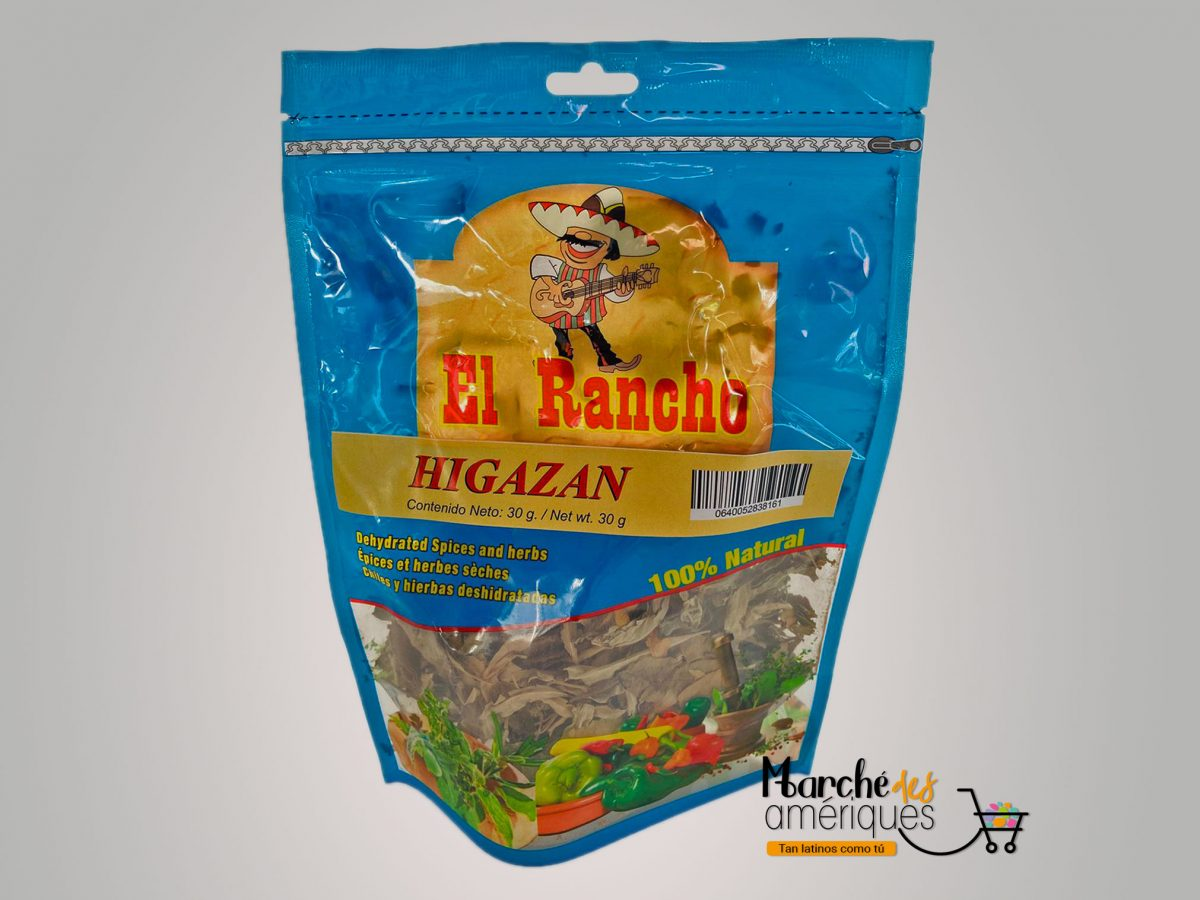 Higazan Hierbas Deshidratadas El Rancho 30 G