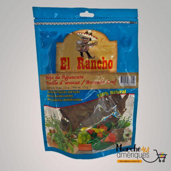Hoja De Aguacate El Rancho 10 G