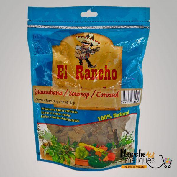 Hojas De Guanabana El Rancho 30 G