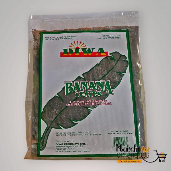 Hojas De Platano Para Tamales Diwa 454 G