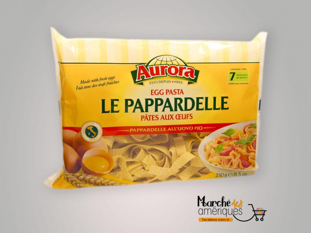 Le Pappardelle Pasta De Huevo Aurora 250 G