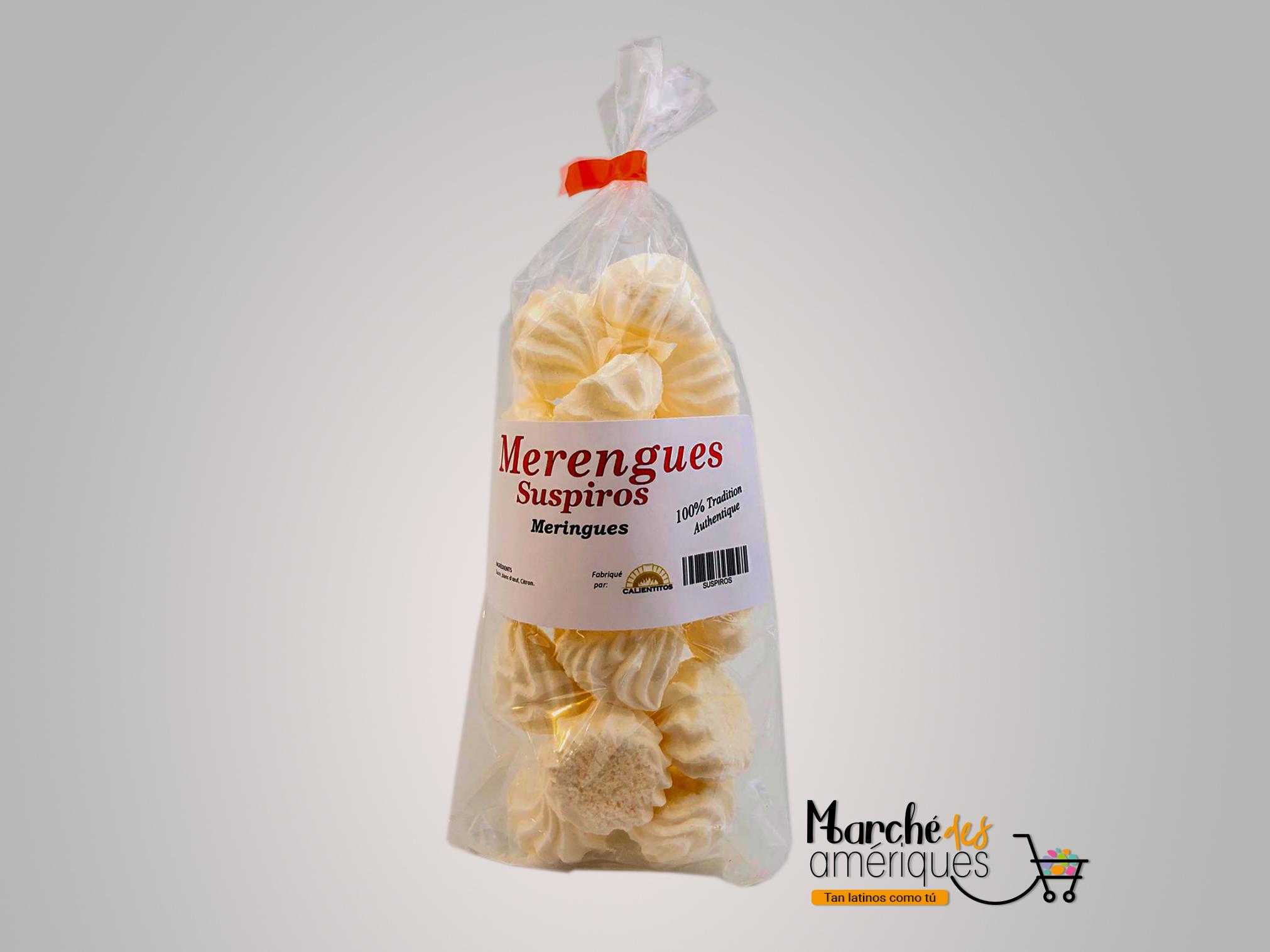 Merengues Suspiros - Marché des Amériques - Código de Barras