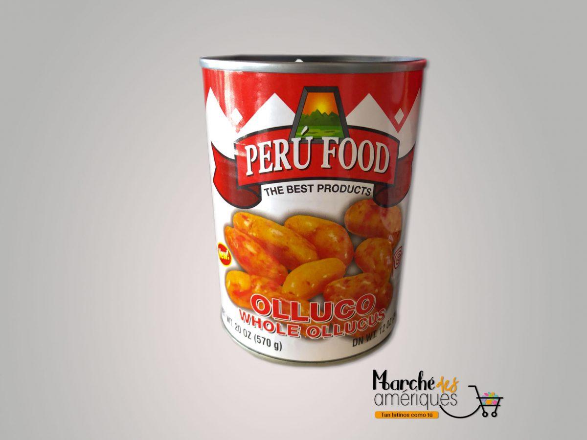 Olluco Entero Peru Food 570 G