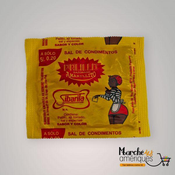 Palillo Sazonado Amarillito Sal De Condimentos Sibarita 9 G