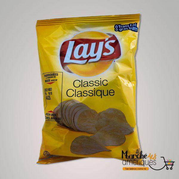 Papas Lays Clasicas Frito Lay 40 G
