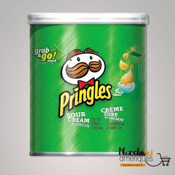 Papas Pringles Crema Cebolla Kelloggs 37 G