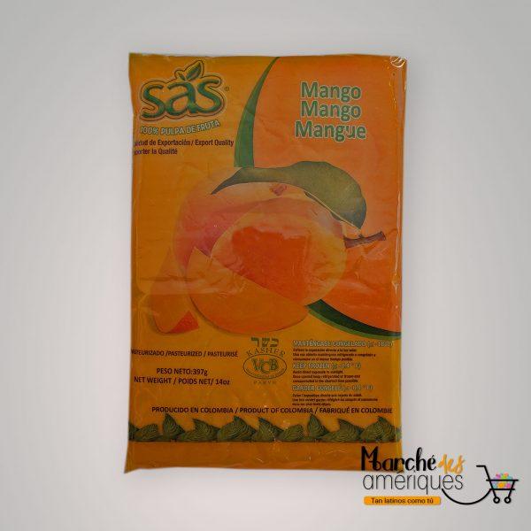 Pulpa De Fruta De Mango Congelada SAS 397 G