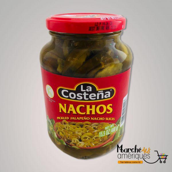 Rodajas Jalapenos Nachos Marinados La Costena 440 G