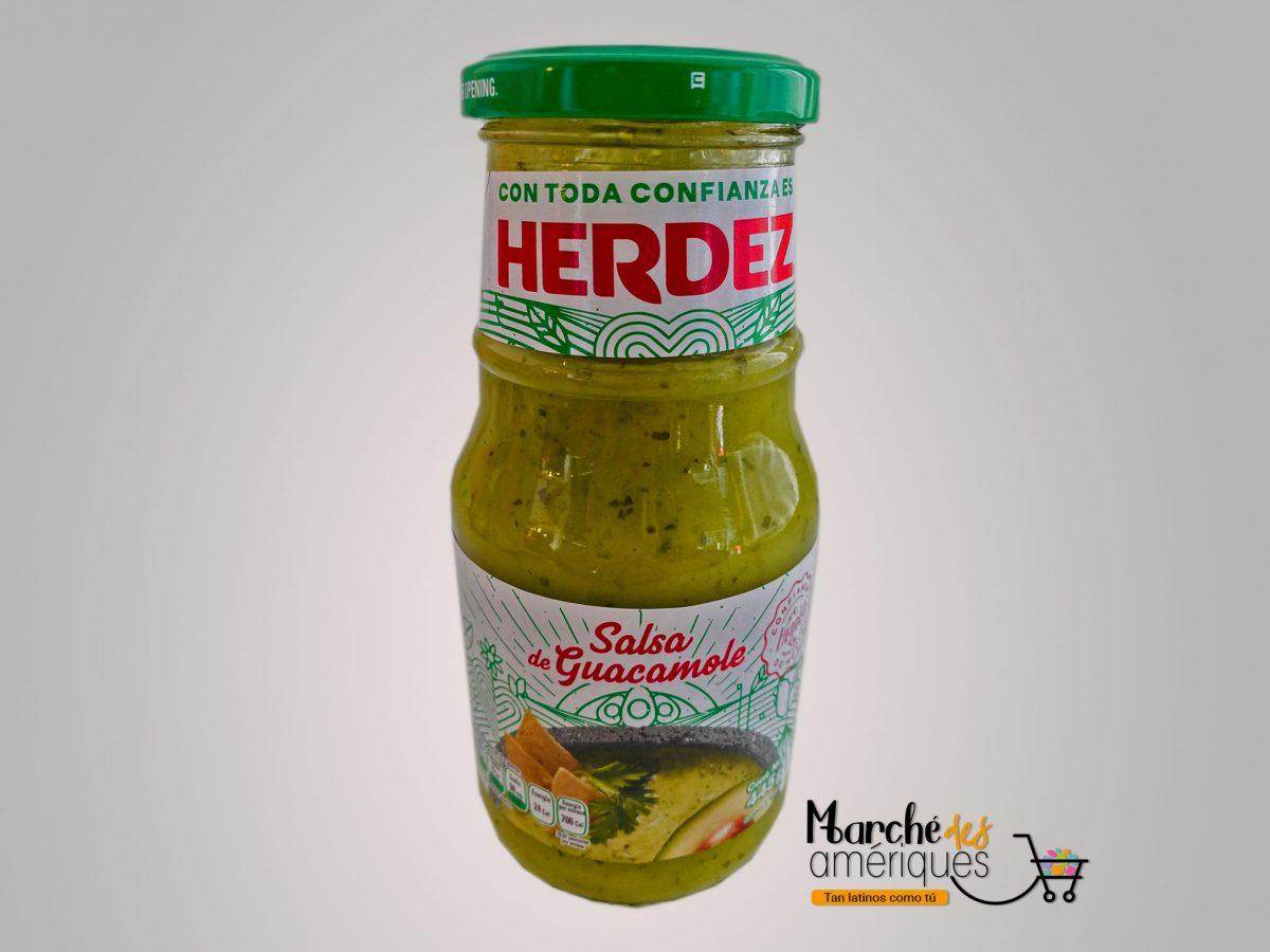 Salsa Guacamole 2 Herdez 445 G