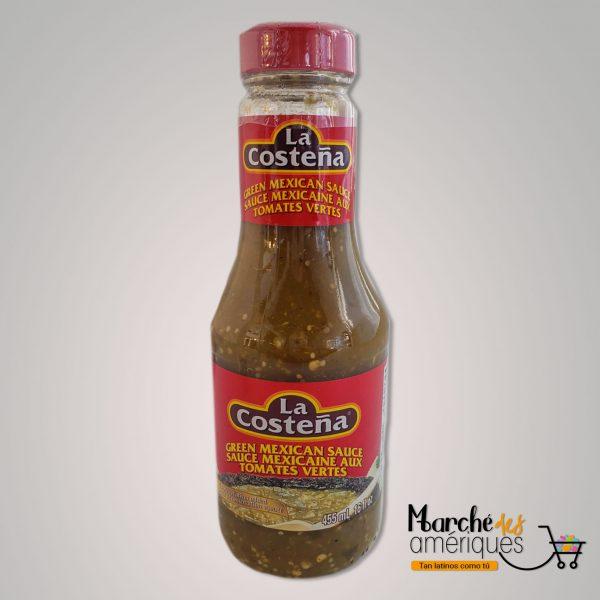 Salsa Mexicana De Tomates Verdes La Costena 455 Ml