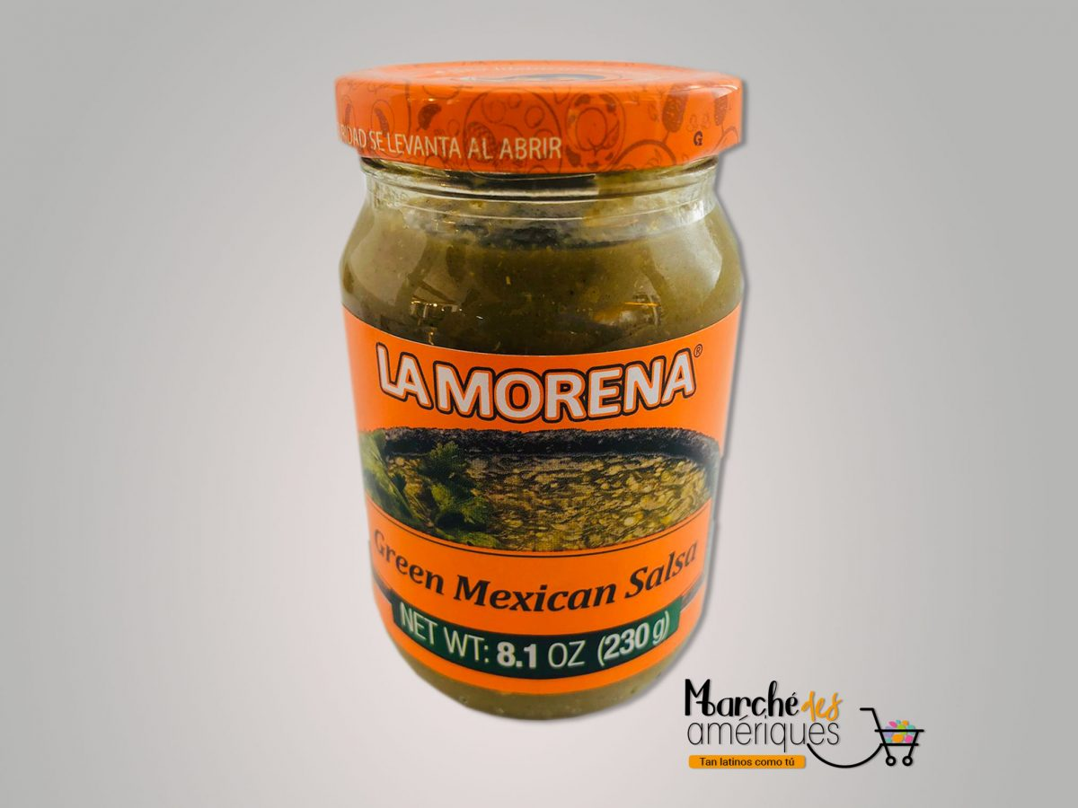 Salsa Mexicana De Tomates Verdes La Morena 230 G