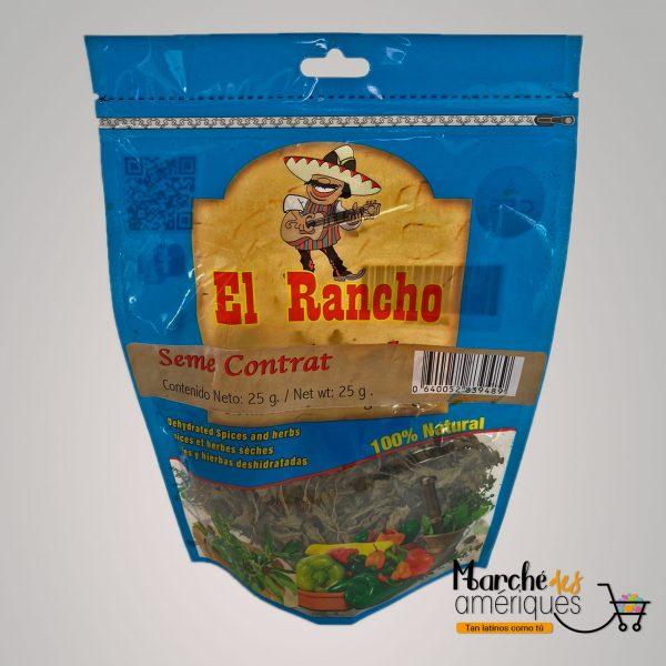 Seme Contrat Hierbas Deshidratadas El Rancho 25 G