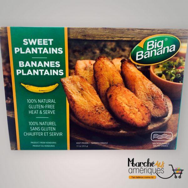 Tajadas De Platano Maduro Big Banana 312 G
