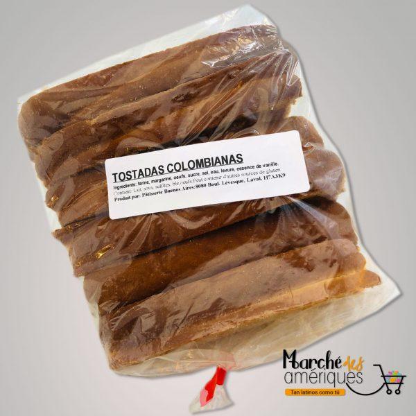 Tostadas Colombianas Artesanales 6 Unidades
