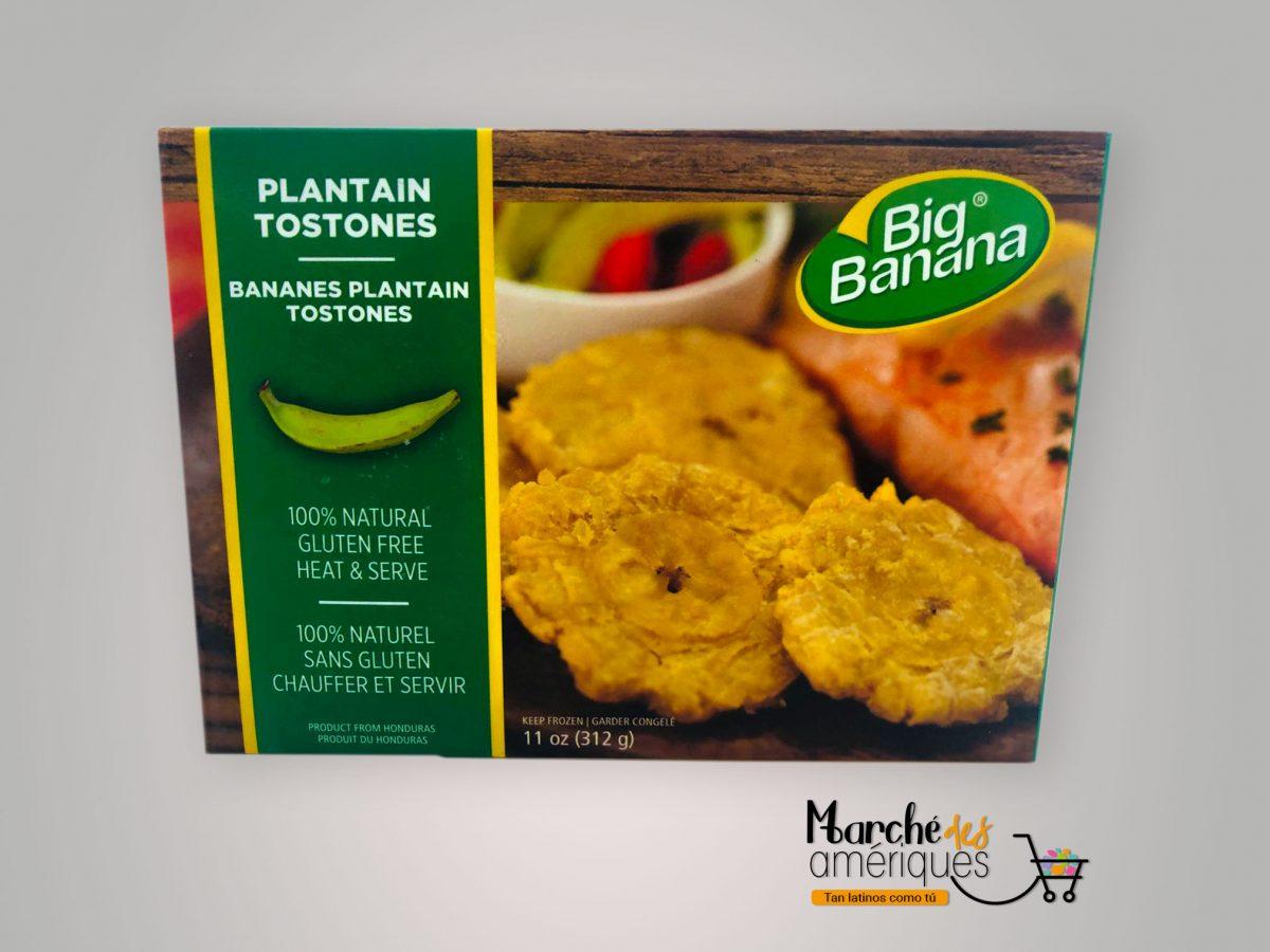 Tostones De Platano Big Banana 312 G