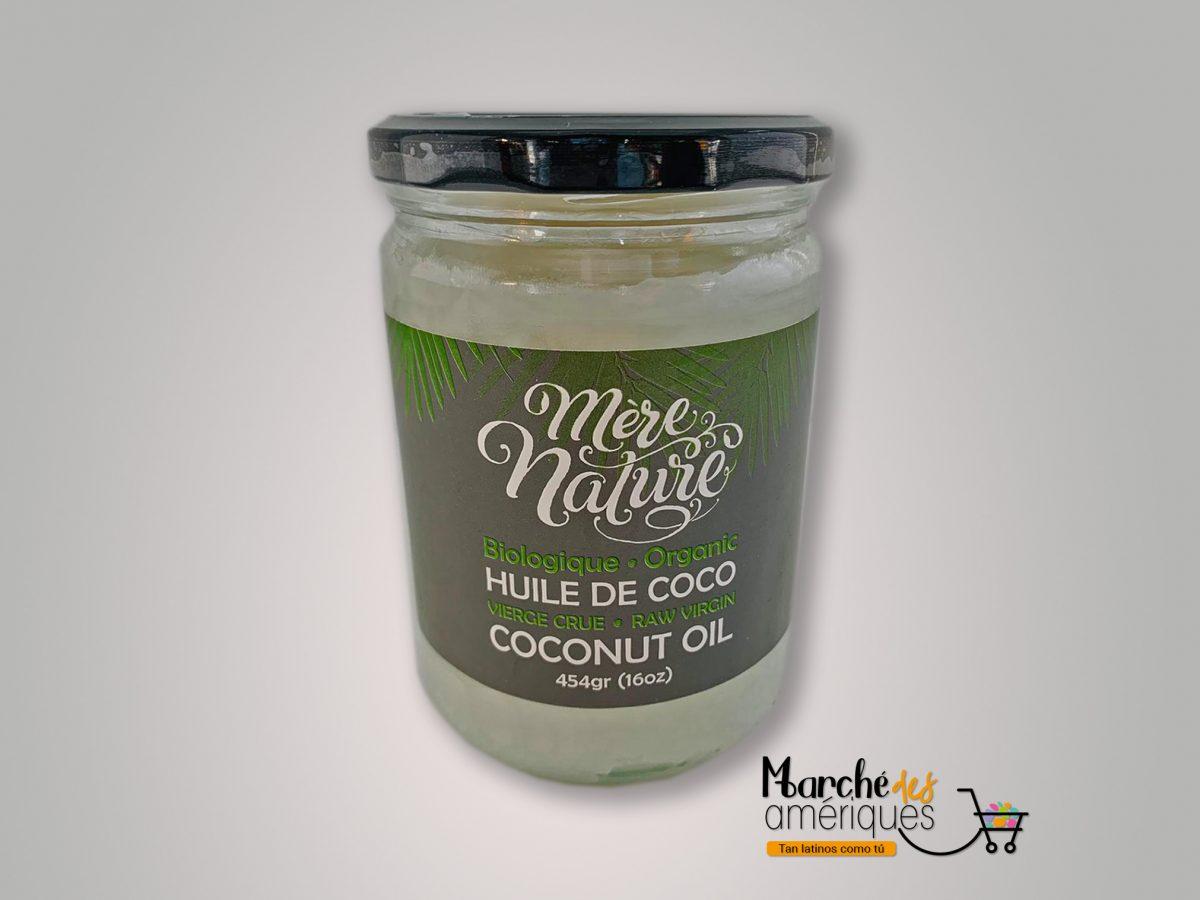 Aceite De Coco Mere Nature 454 G