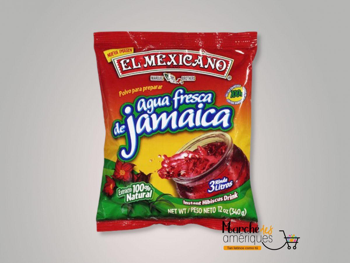 Agua Fresca De Jamaica El Mexicano 340 G