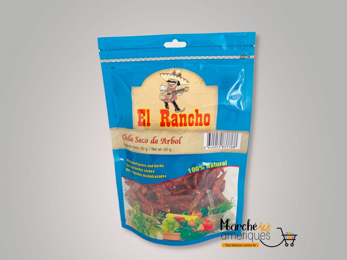 Aji Seco De Arbol El Rancho 60 G