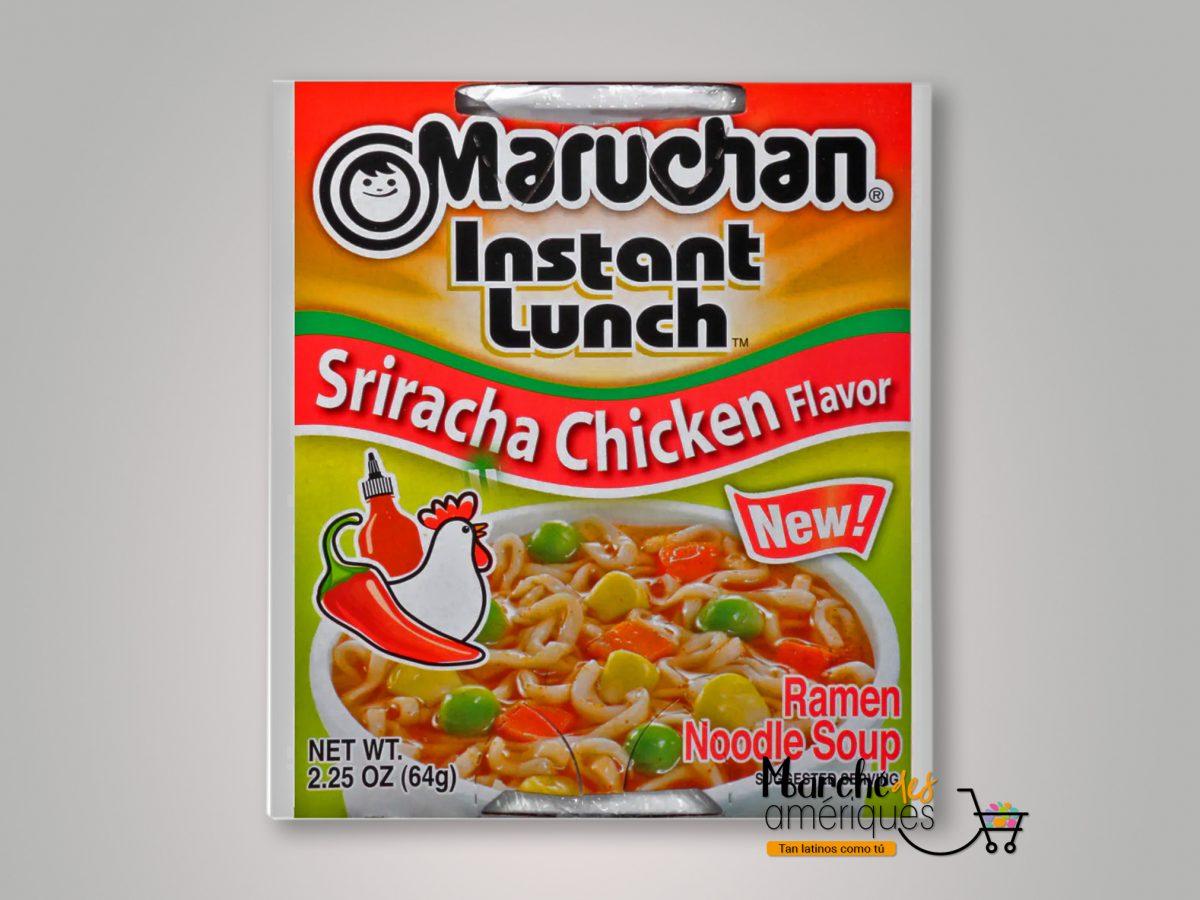 Almuerzo Instant A Neo Sabor Sriracha Y Pollo Maruchan 64 G