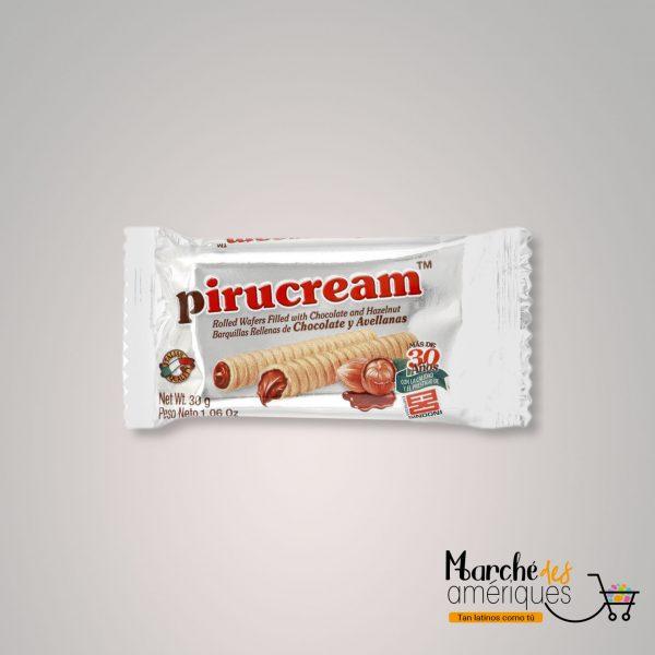 Barquillas Crema Chocolate Y Avellanas Pirucream 30 G 2
