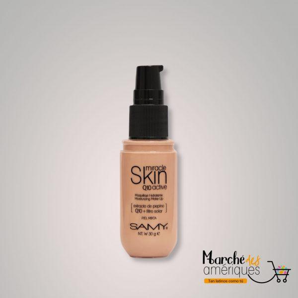 Base Liquida Miracle Skin 02 Caramelo Ligero Samy 30 G