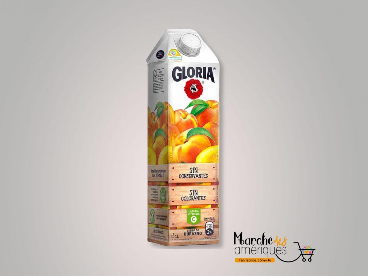 Bebida De Durazno Gloria 1l
