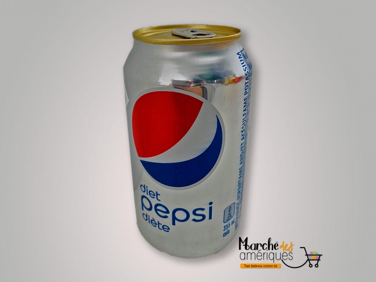 Bebida Gaseosa Dietetica Pepsi 355 Ml