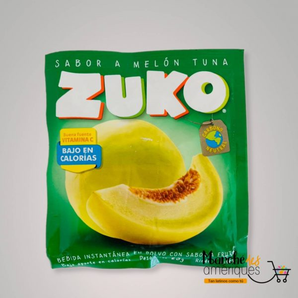 Bebida Instantanea Con Sabor A Melon Tuna Zuko 25 G